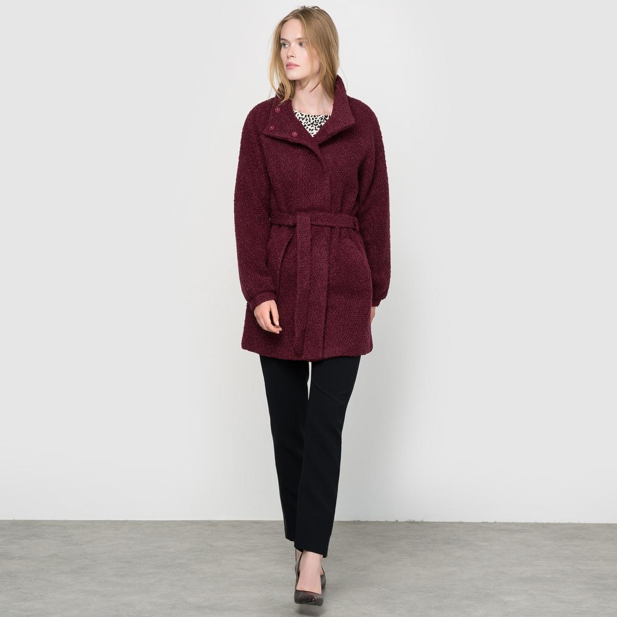 Пальто букле, 50% шерсти, SANNIZ JA
