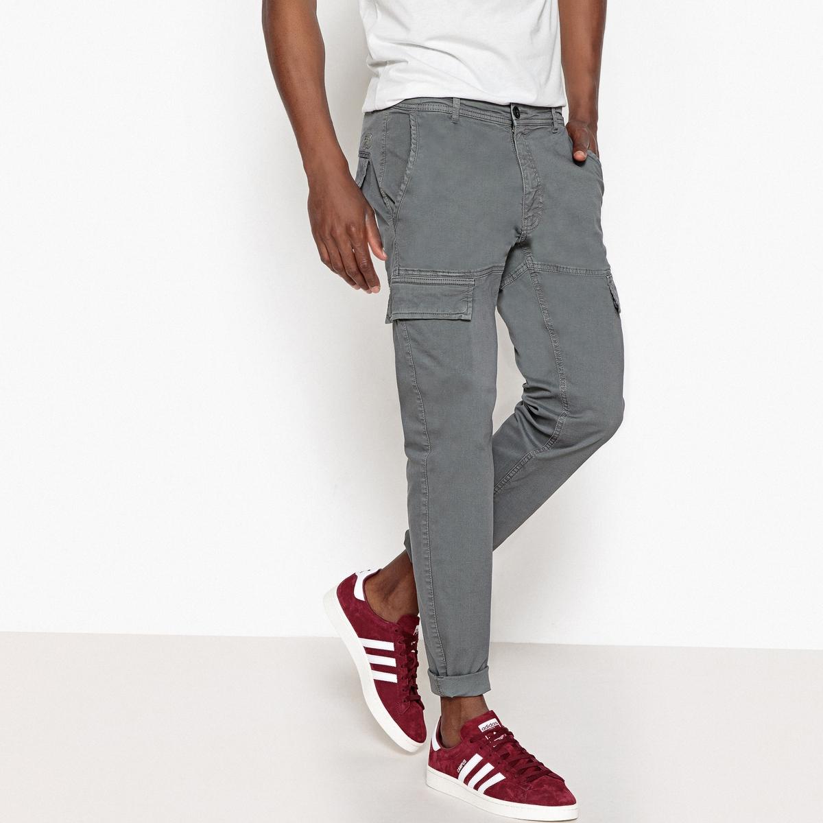 Брюки-карго зауженные брюки eccentrica брюки зауженные
