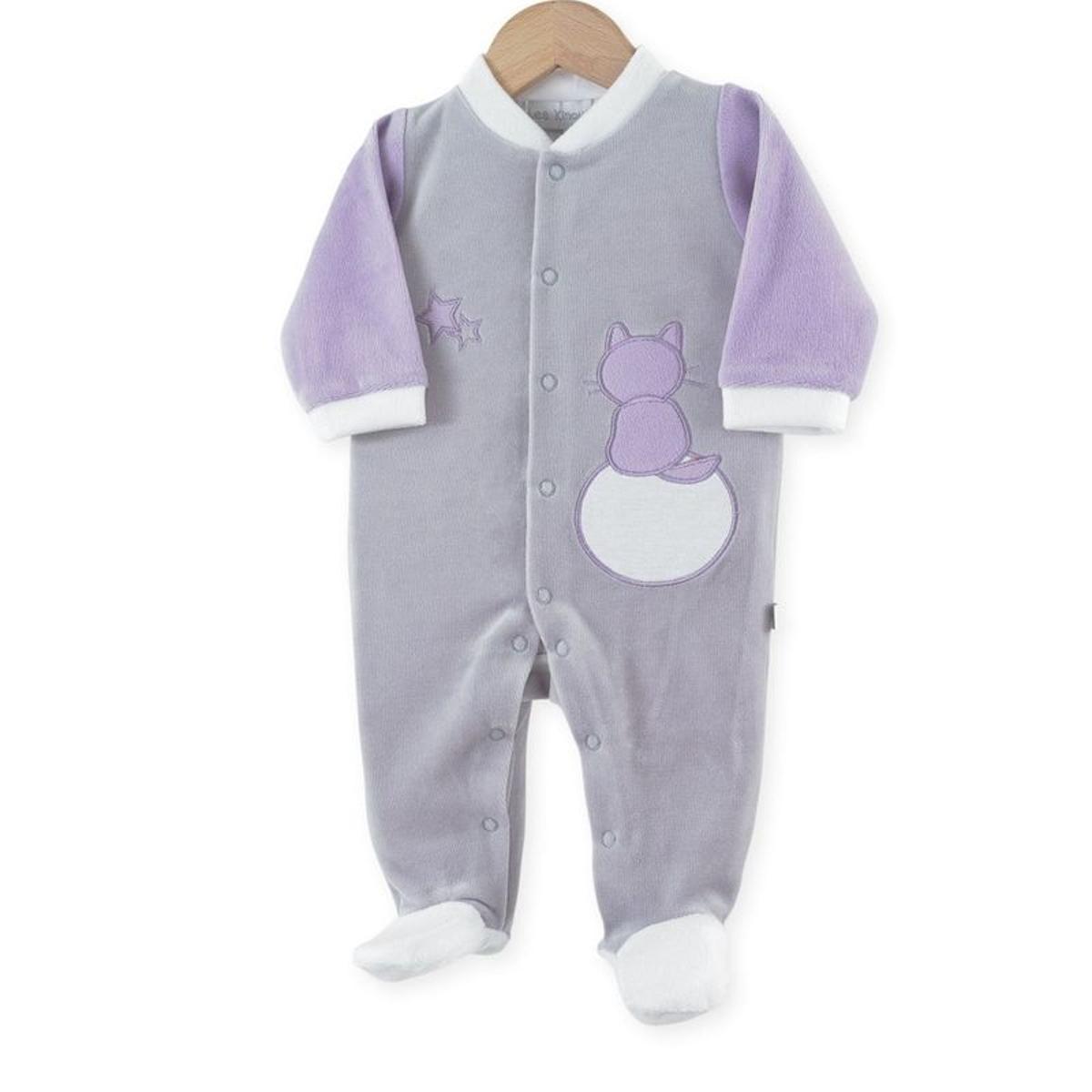 Pyjama naisance fille  Chats dans les étoiles