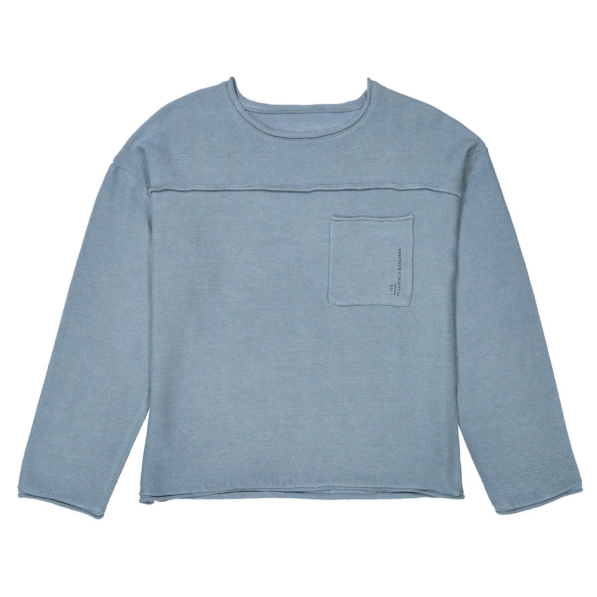 Пуловер свободный, 3-12 лет