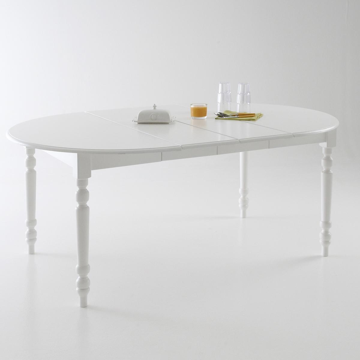 Круглый La Redoute Стол на - персон Authentic Style 8 персоны белый