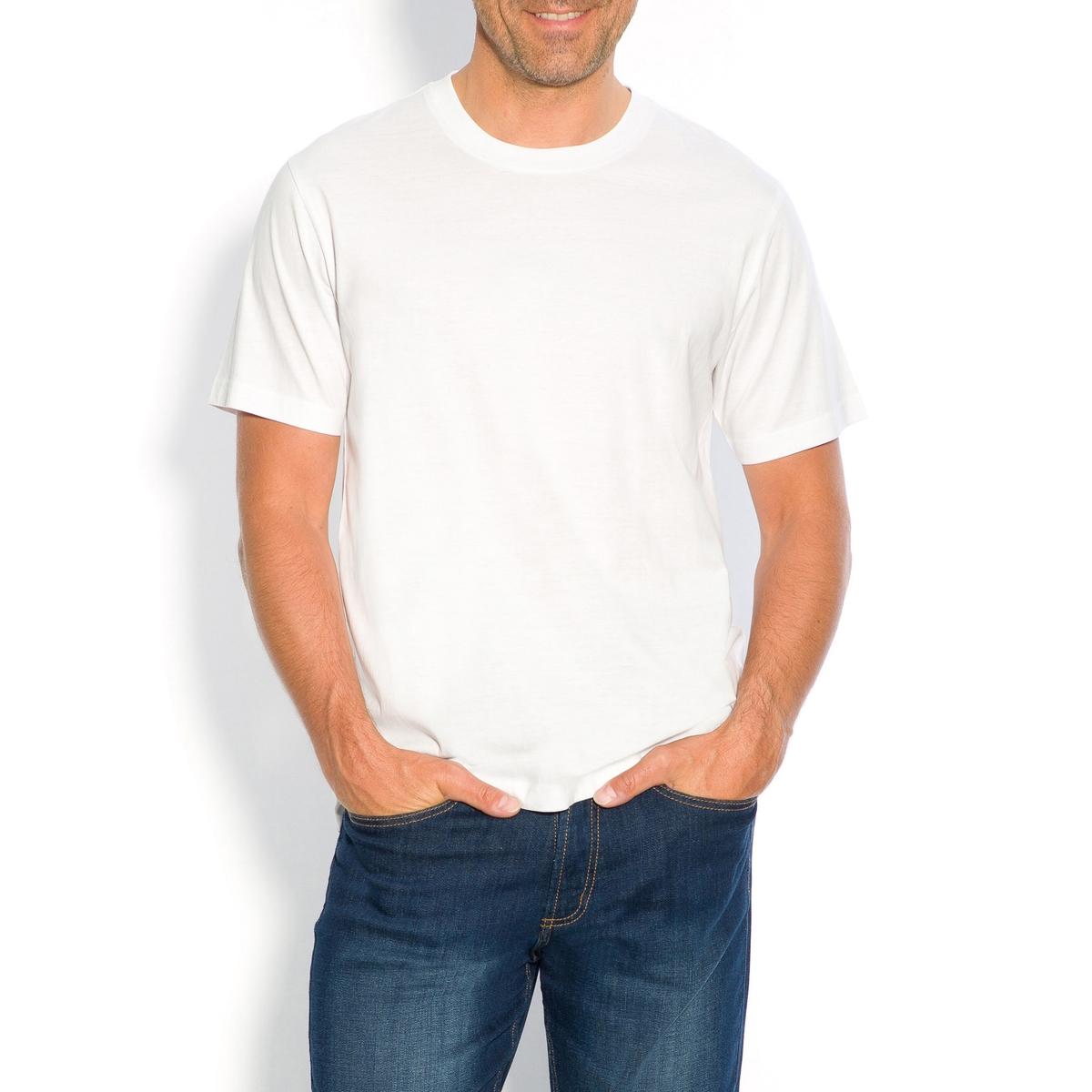 Футболка из коллекции больших размеров с круглым вырезом и короткими рукавами одежда больших размеров 13c 5118yyls mm 7