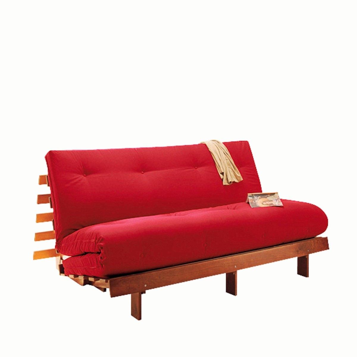 Матрас-футон La Redoute Из хлопка для банкетки THA 140 x 190 см красный кровать la redoute с основой под матрас trianon 140 x 190 см белый