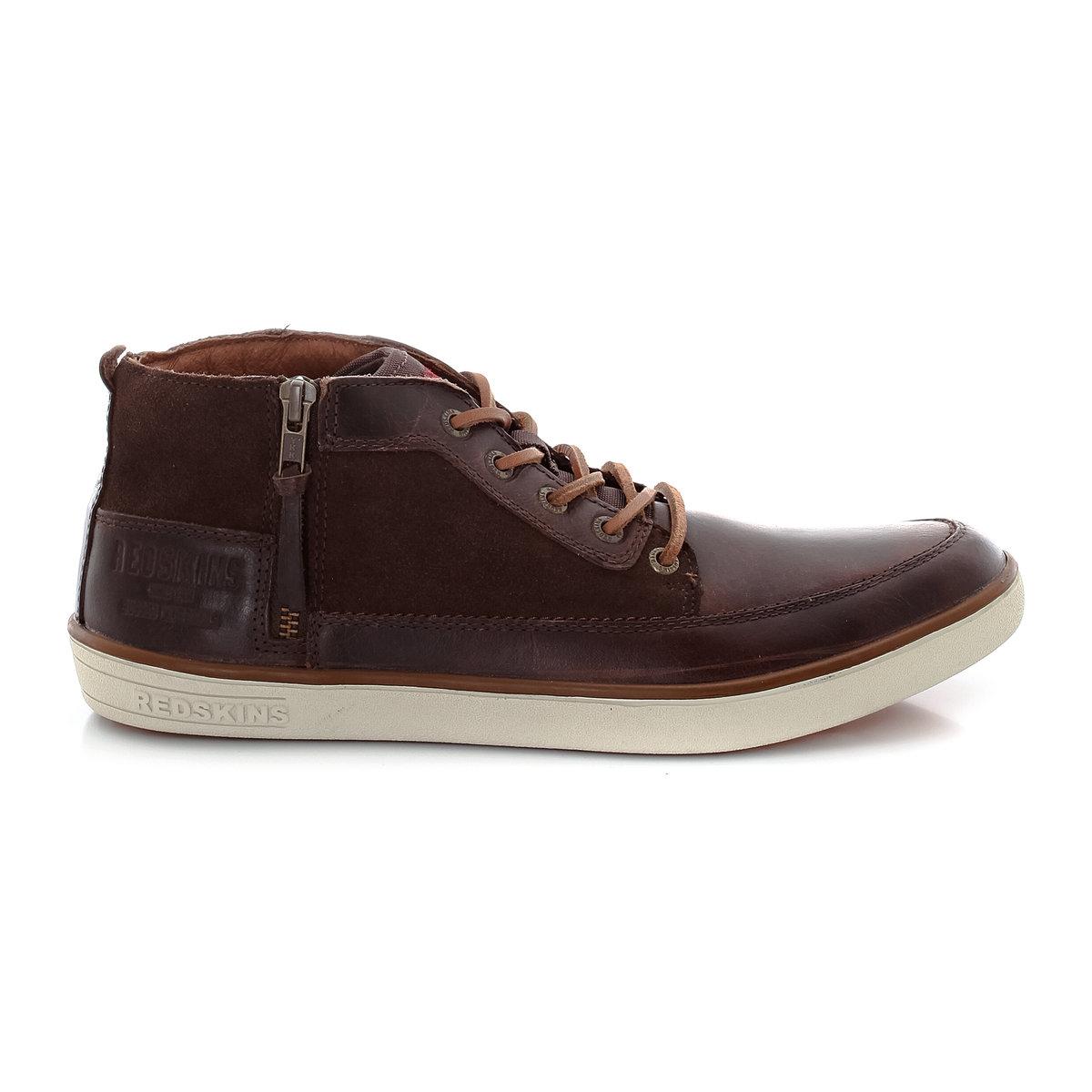 Ботинки из коровьей кожи DardarЯркие и стильные кожаные ботинки с застежкой на молнию сбоку. Невероятно удобные и практичные<br><br>Цвет: каштановый<br>Размер: 41