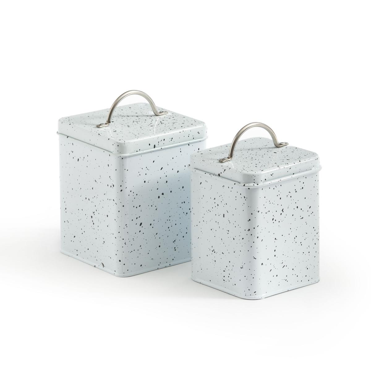 Комплект из 2 коробок, Naka La Redoute La Redoute единый размер белый зеркало la redoute д x в см principe единый размер бежевый