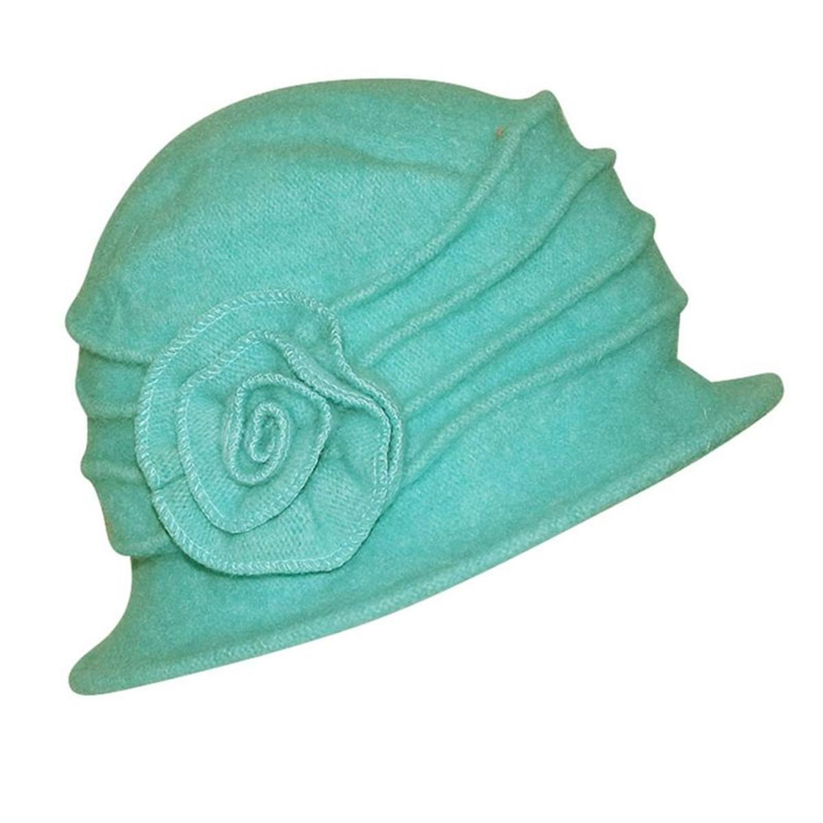 chapeau cloche  à fleur