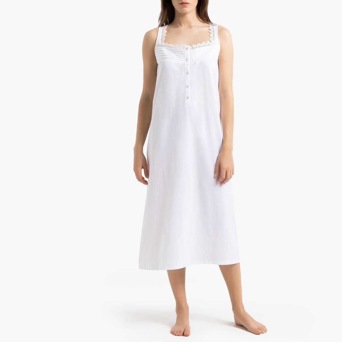 Camisa de dormir de cavas