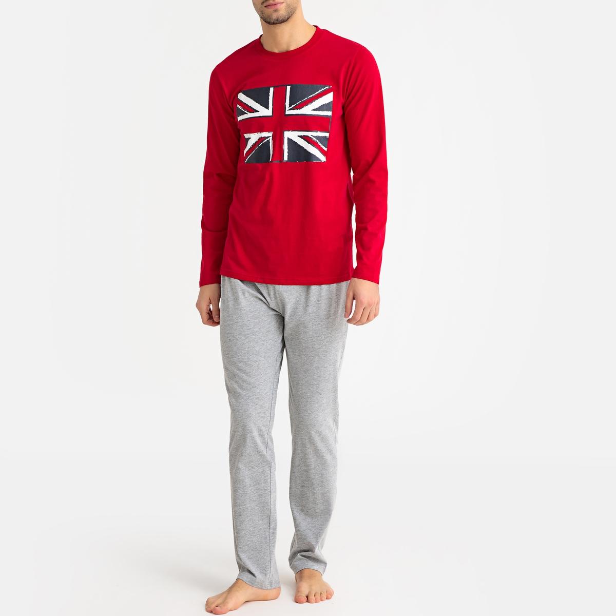 Pijama Union Jack de mangas compridas
