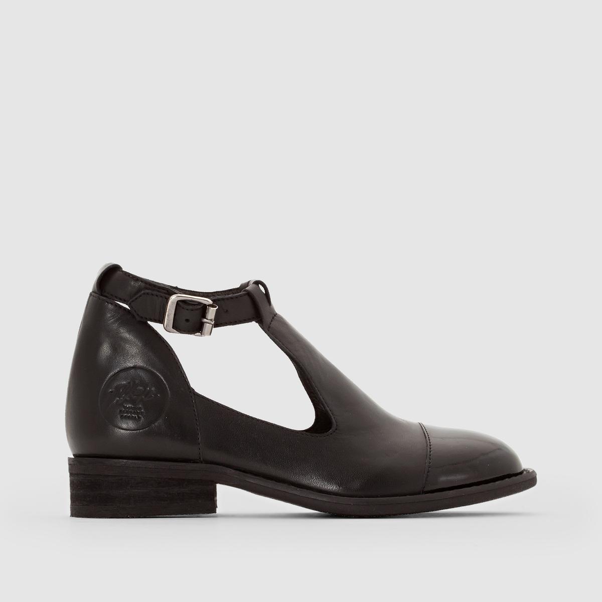 Ботинки ажурные с ремешком на щиколотке ANNOUK