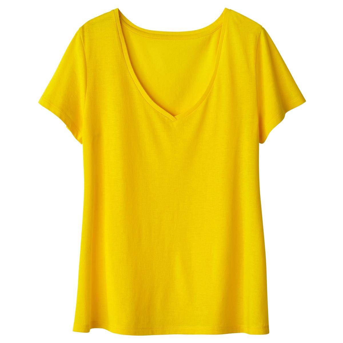 T-shirt básica, mangas curtas