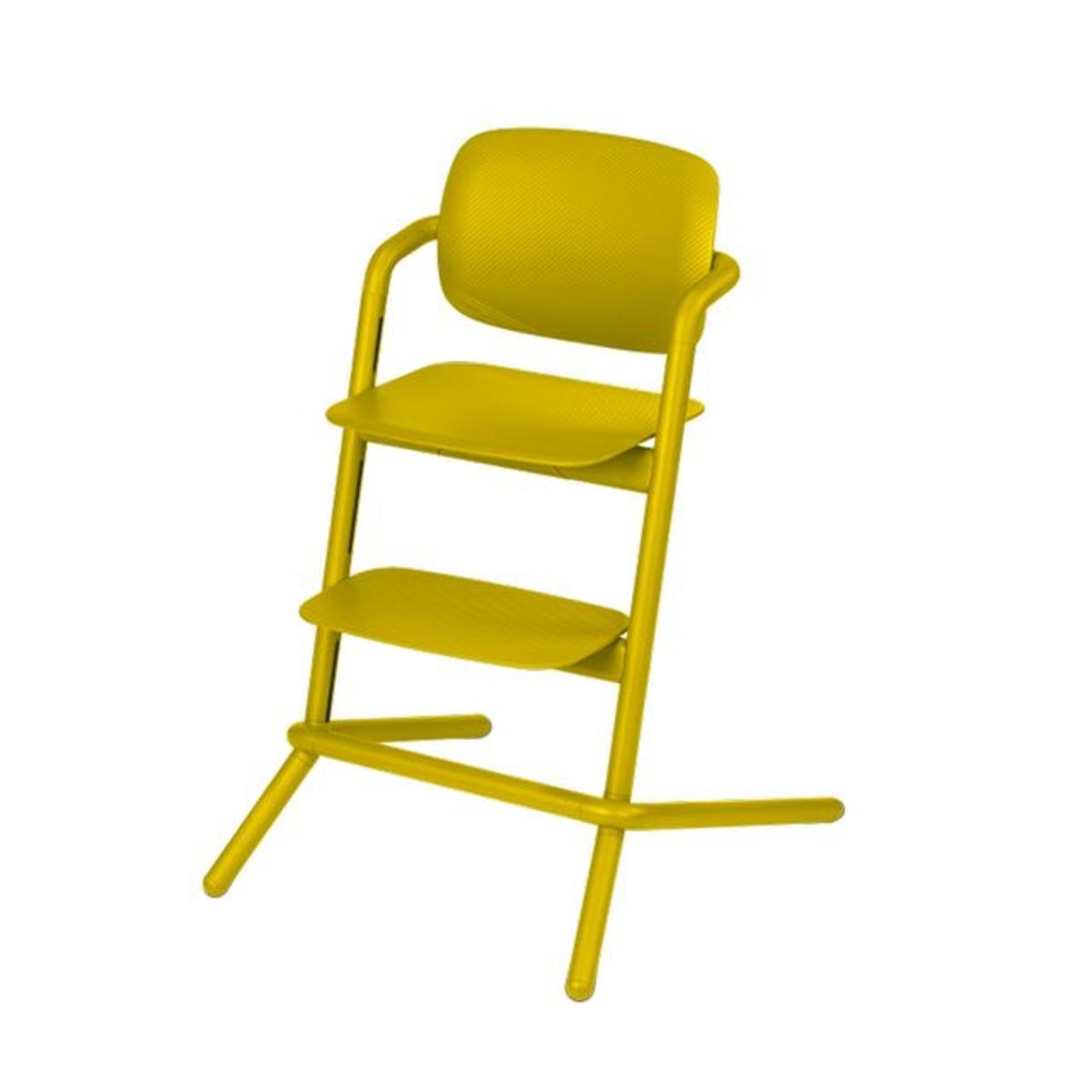 Chaise haute Lemo canary yellow