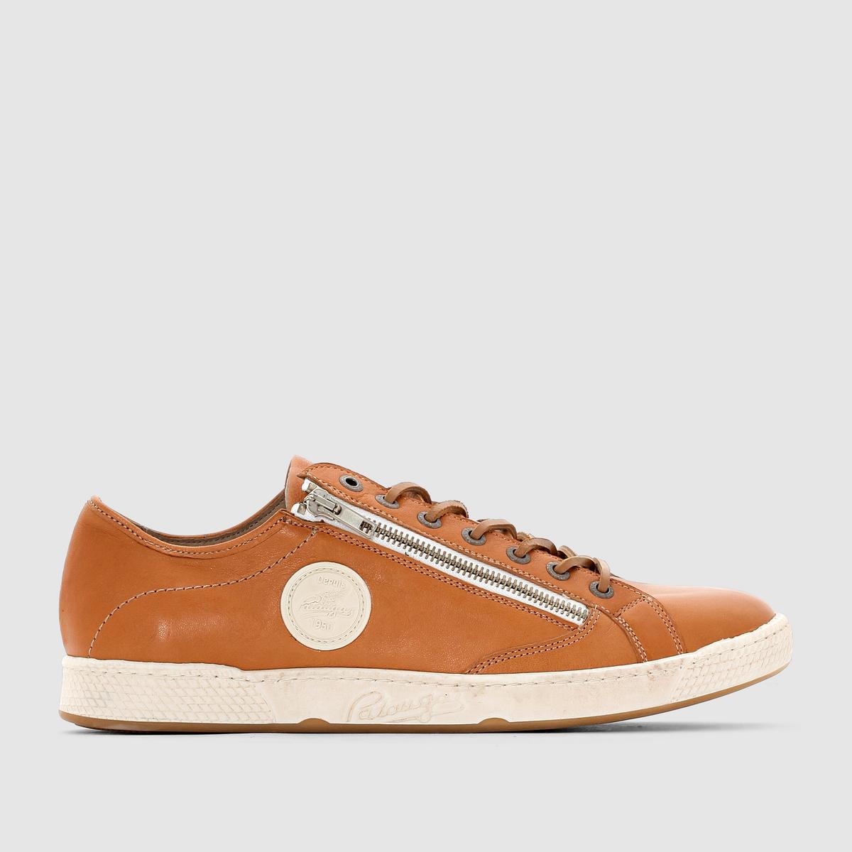 Кеды низкие JAY/N - PATAUGASЗастежка: на шнуровке.Преимущества: простота и стиль кожаных кед от Pataugas.<br><br>Цвет: темно-бежевый<br>Размер: 42