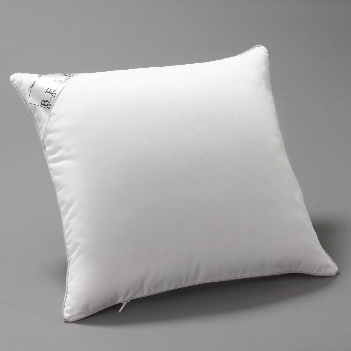 Фото - Подушка LaRedoute Пышная из синтетики с пропиткой proneem 40 x 40 см белый подушка laredoute жесткая из латекса с пропиткой proneem 50 x 70 см белый