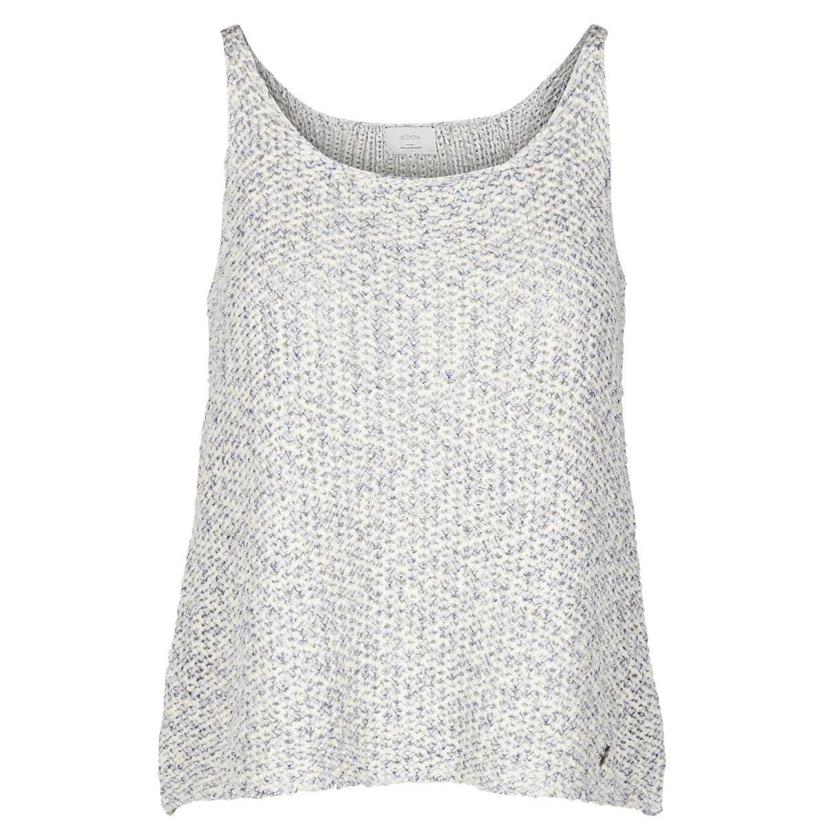Пуловер без рукавовМатериал : 74% хлопка, 26% полиэстераДлина рукава : без рукавов Форма воротника : V-образный вырез Покрой пуловера : СтандартныйРисунок : Однотонная модель<br><br>Цвет: небесно-голубой<br>Размер: XS.XL.L
