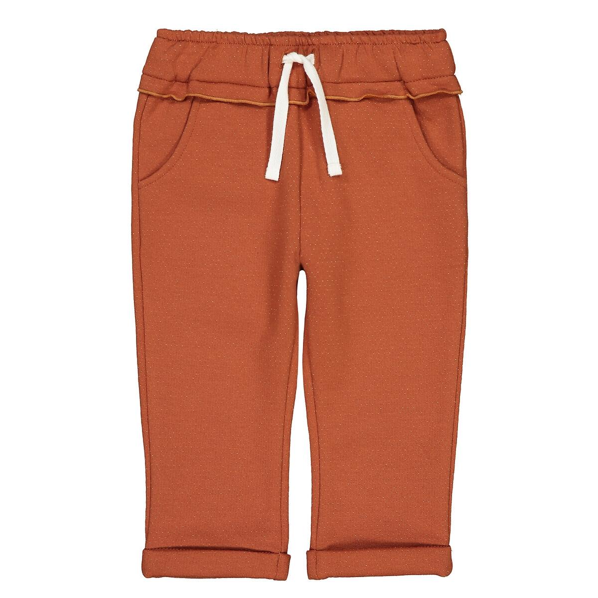 Штанишки LaRedoute Из мольтона 1 мес-4 года 6 мес. - 67 см оранжевый брюки laredoute из мольтона с бантом 1 мес 3 года 9 мес 71 см розовый