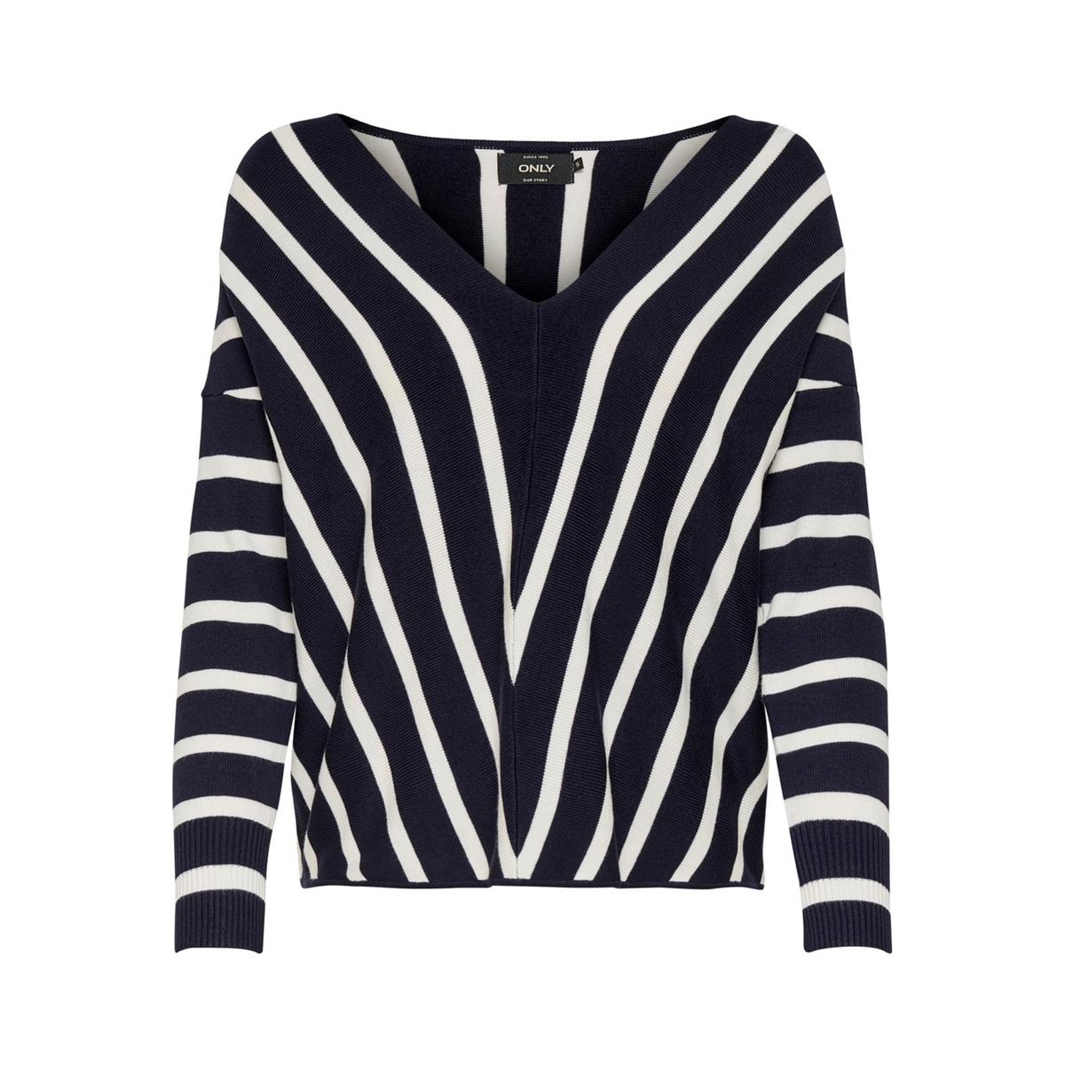 Пуловер La Redoute С вырезом-лодочкой из тонкого трикотажа L синий