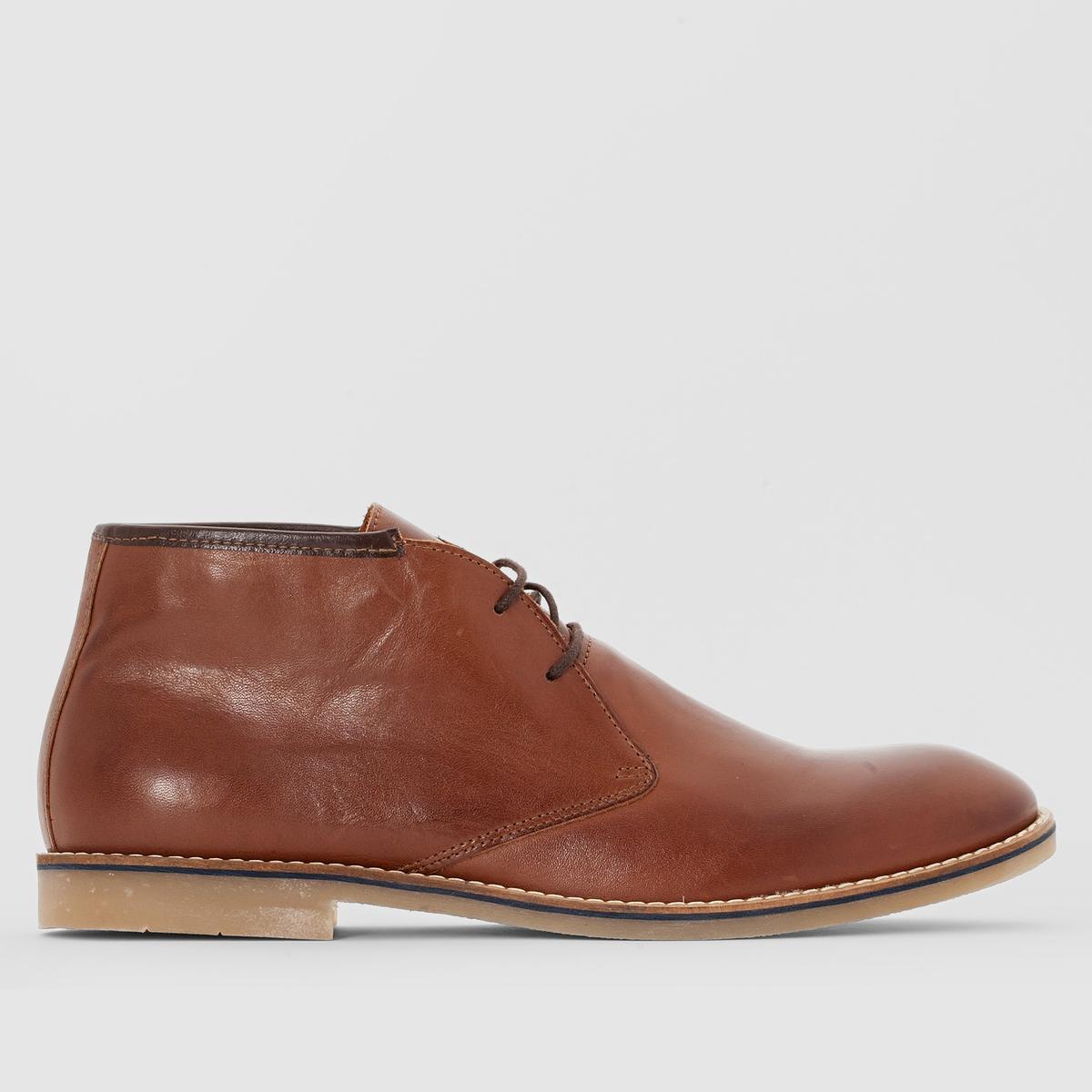 Ботинки кожаные на шнуровке Chah 16 от La Redoute Collections
