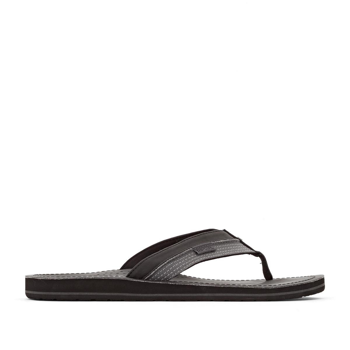 Вьетнамки OxВерх/Голенище : синтетика     Стелька : синтетика     Подошва : каучук     Форма каблука : плоский каблук     Мысок : открытый мысок     Застежка : без застежки<br><br>Цвет: черный<br>Размер: 39