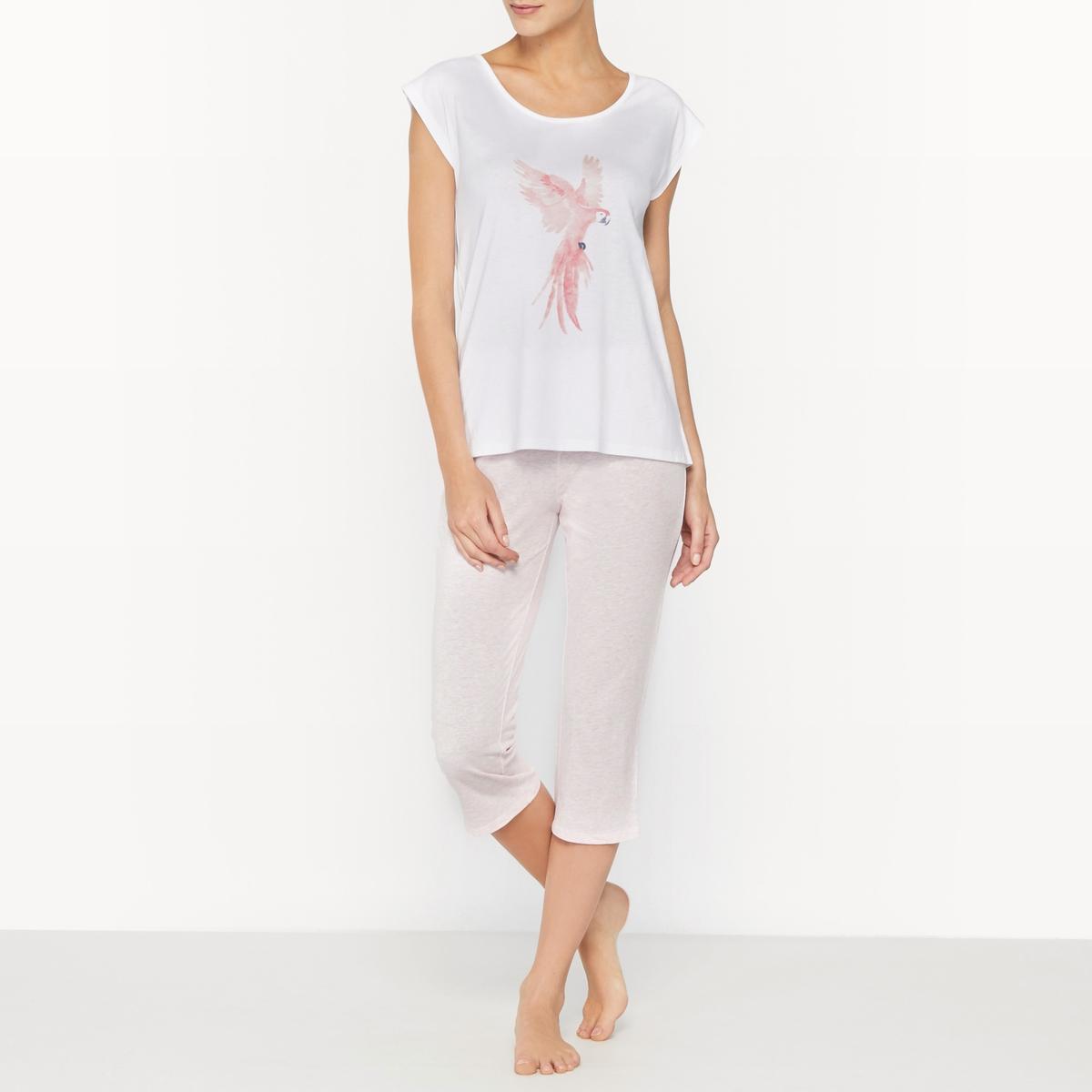 Пижама с короткими брюками из 2 предметов