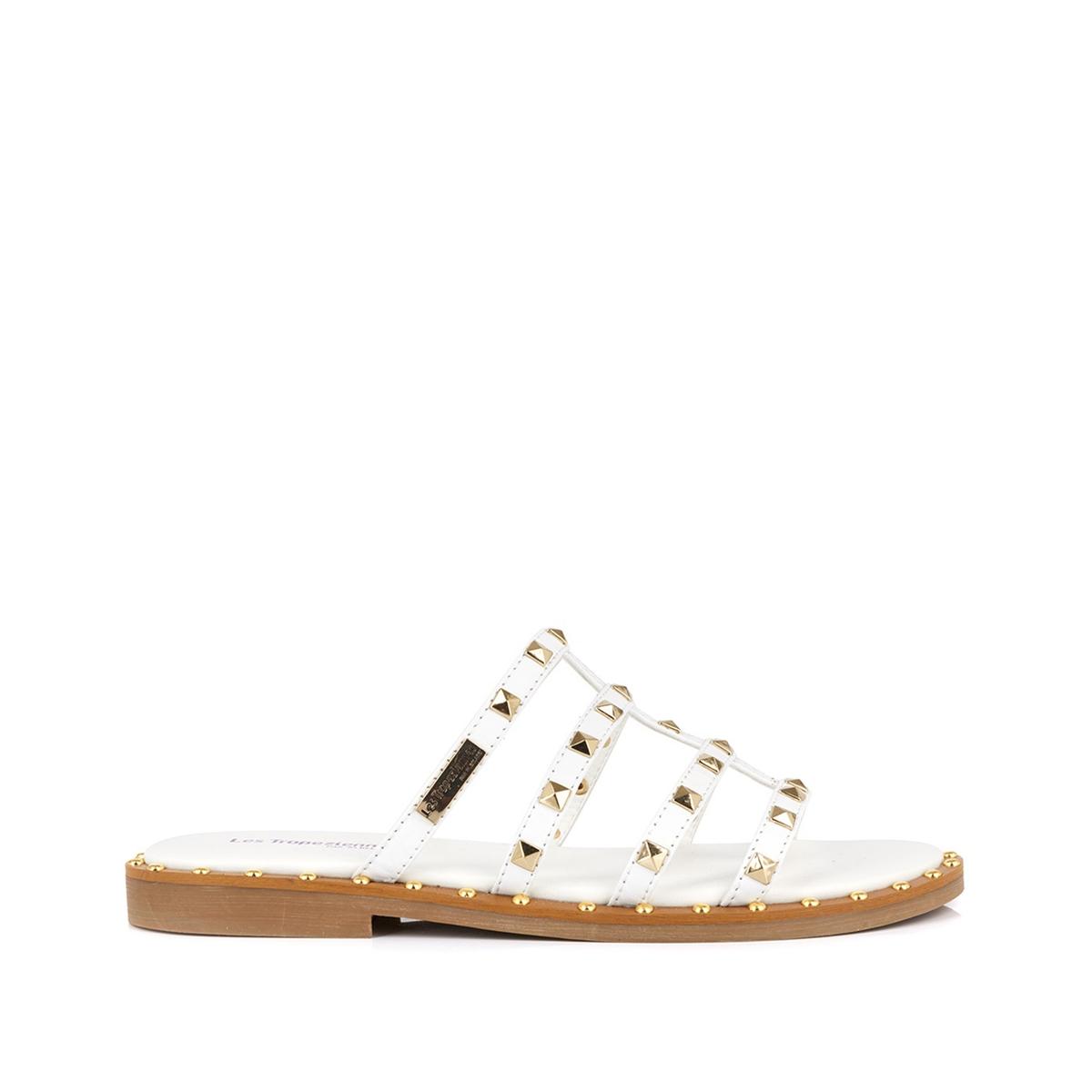 Туфли La Redoute Без задника кожаные Dory 35 белый