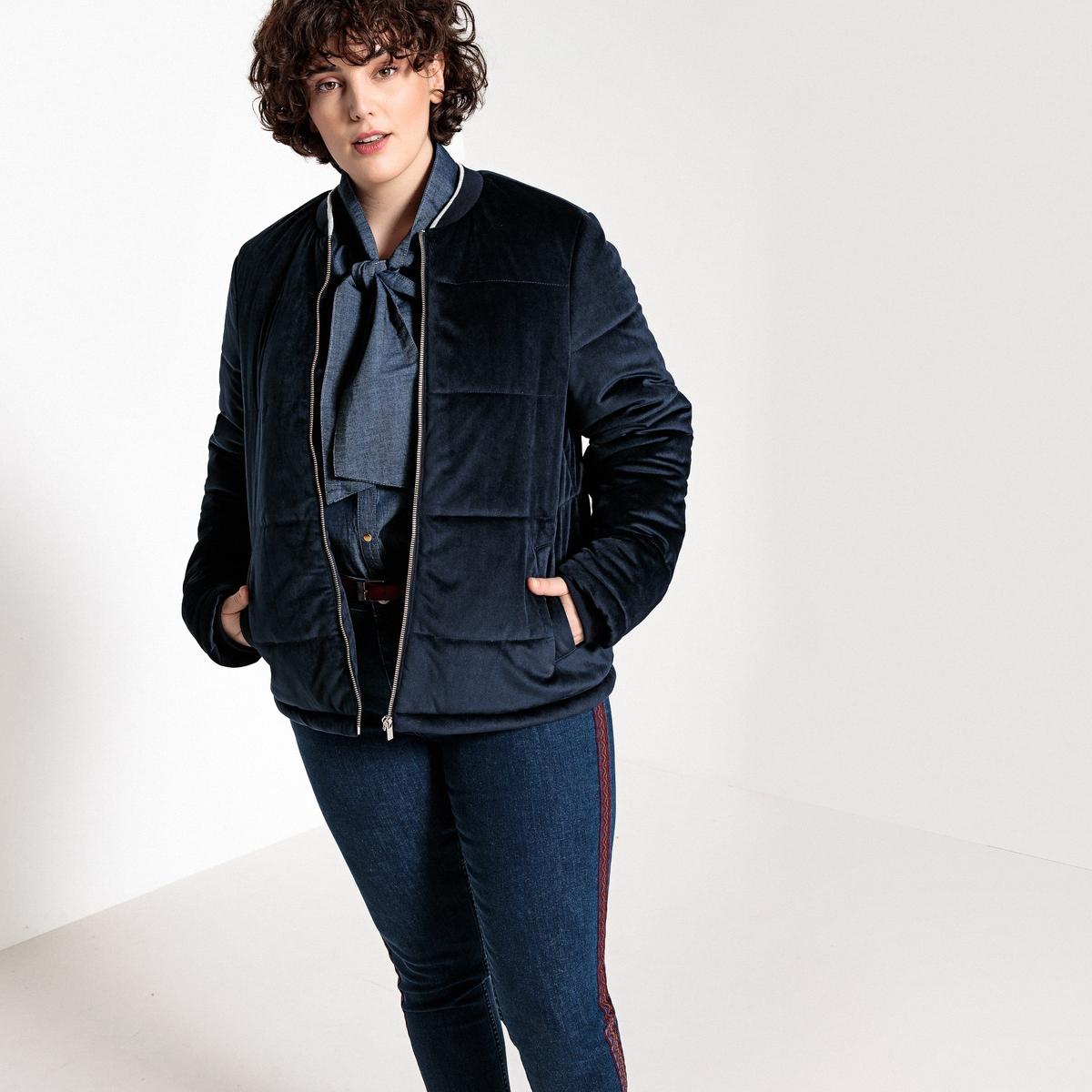 Куртка стеганая короткая на молнии куртка стеганая короткая с леопардовым принтом