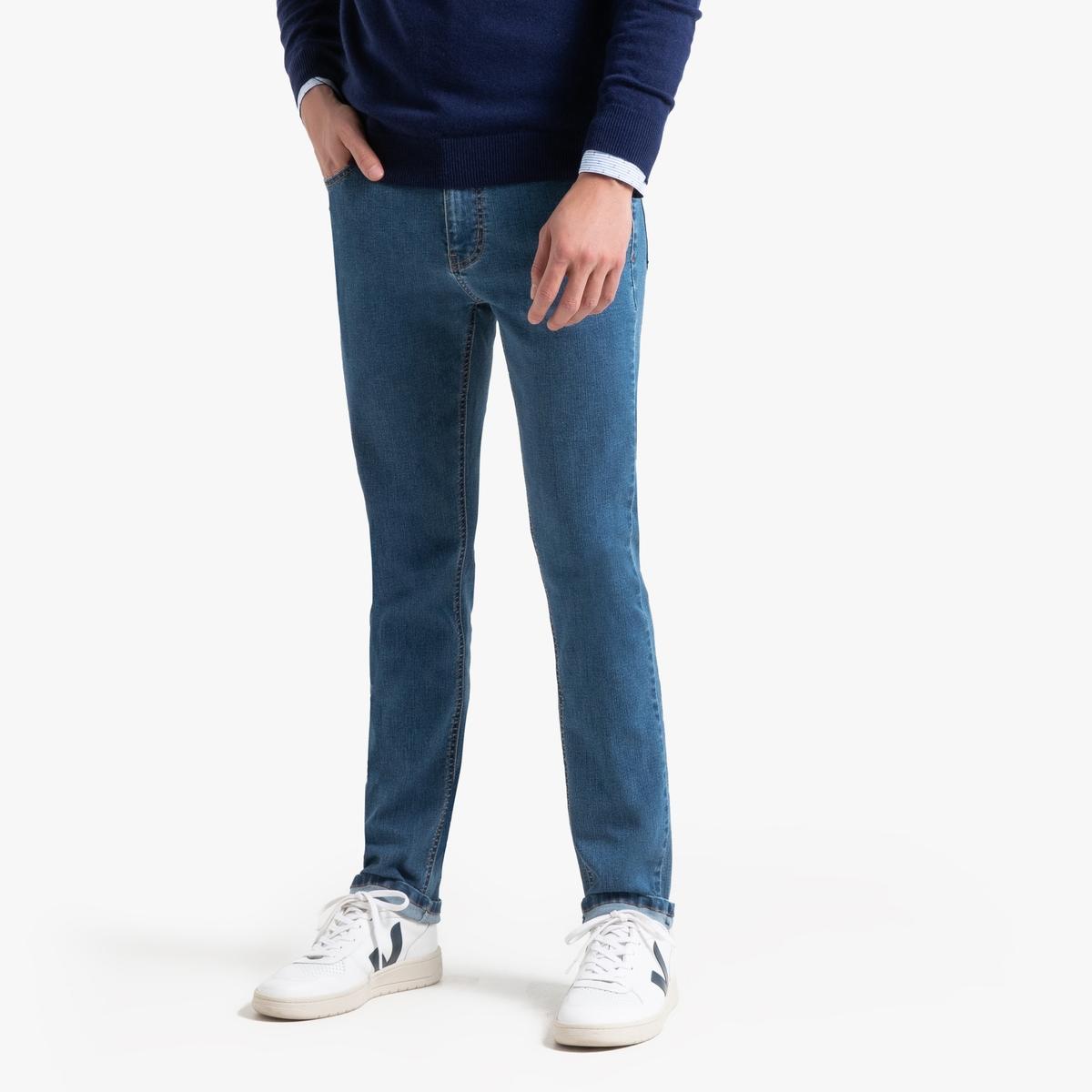 Джинсы La Redoute Узкие Flex 50 (FR) - 56 (RUS) синий брюки la redoute узкие дудочки с жаккардовым рисунком 50 fr 56 rus черный