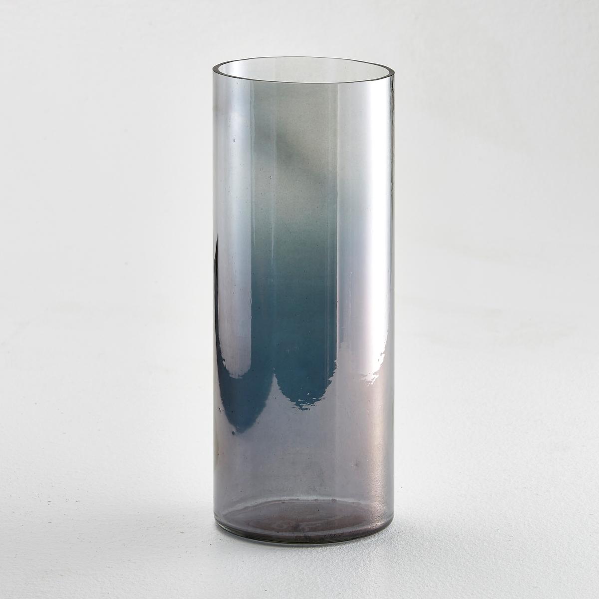 Ваза декоративная, GradaХарактеристики вазы Grada :Ваза из градиентного стекла. 2 варианта расцветки : янтарная и серая.4 защитные наклейки снизу.Размеры вазы Grada :Высота : 25 смДиаметр : 10 смДругие формы и расцветки вы найдёте на laredoute.ru<br><br>Цвет: серый,янтарь