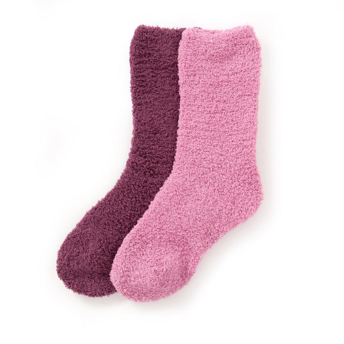 Женские носки из махрового трикотажа (комплект из 2 пар) от La Redoute