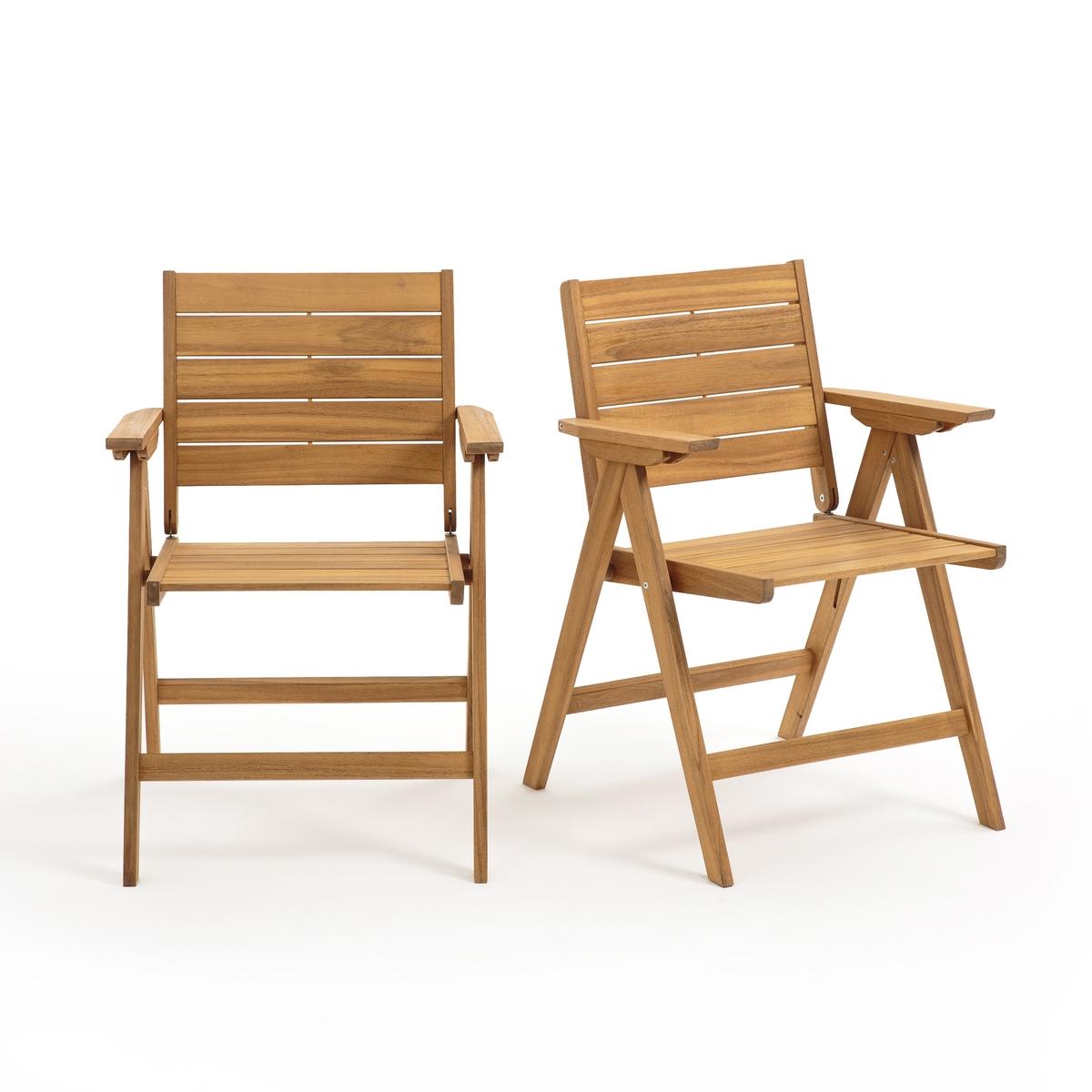 Складных La Redoute Кресла Ralto из акации единый размер бежевый