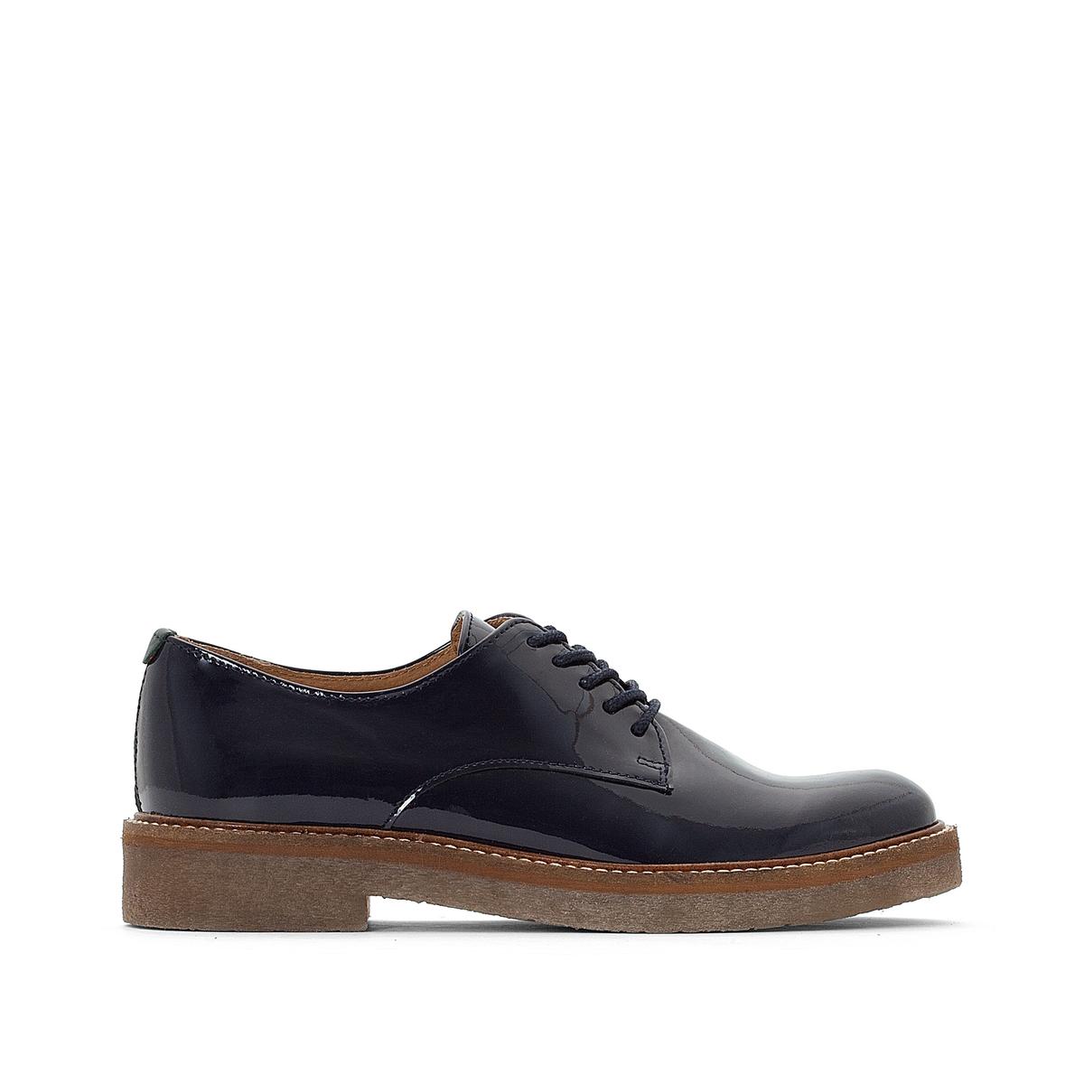 Ботинки-дерби кожаные Oxfork цены онлайн