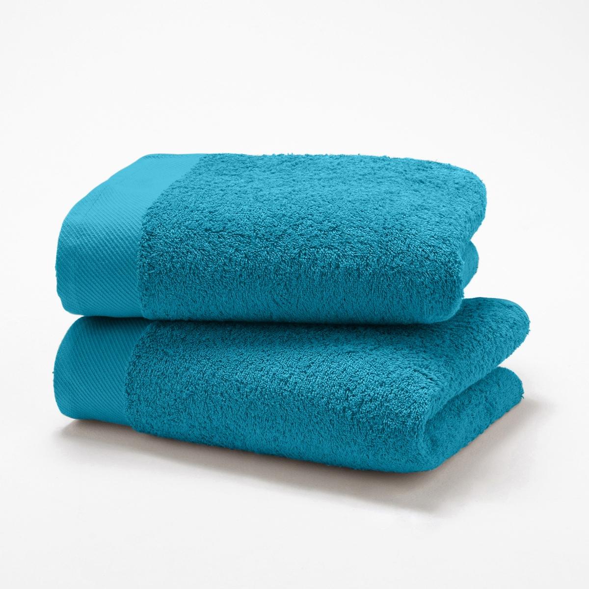 Комплект полотенец для рук La Redoute Гм SCENARIO 50 x 100 см синий комплект из полотенце для la redoute рук из хлопка и льна nipaly 50 x 100 см белый