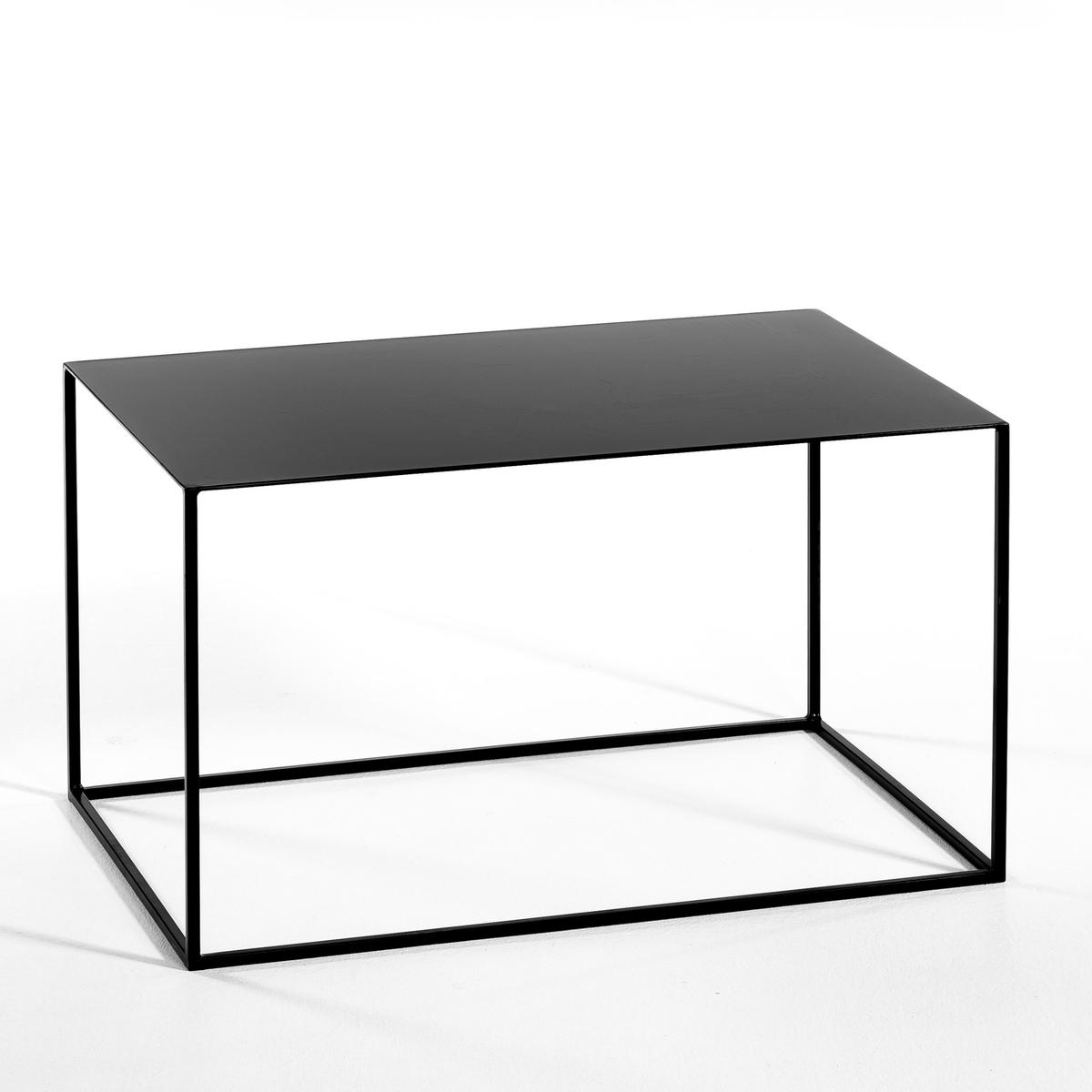 Столик La Redoute Прямоугольный Romy единый размер черный цена