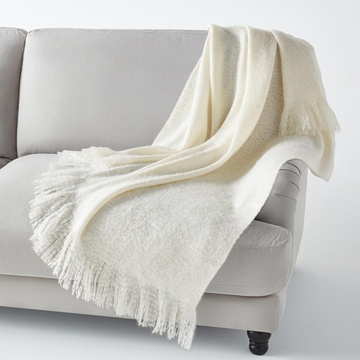 la redoute interieurs plaid effetto mohair revinto eur. Black Bedroom Furniture Sets. Home Design Ideas