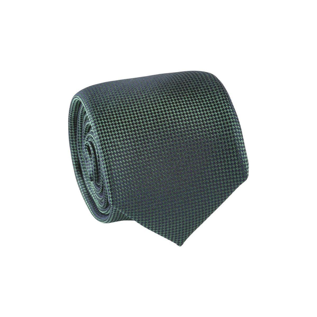 Cravate 100% soie imprimé géométrique