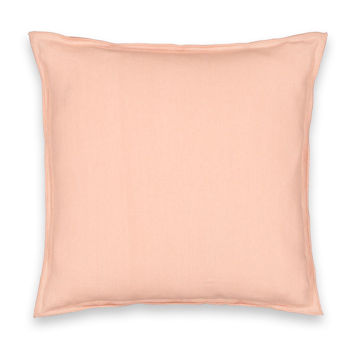 Чехол La Redoute На подушку двухцветный YSTAD 65 x 65 см розовый чехол la redoute для подушки или наволочка однотонного цвета с помпонами riad 65 x 65 см розовый