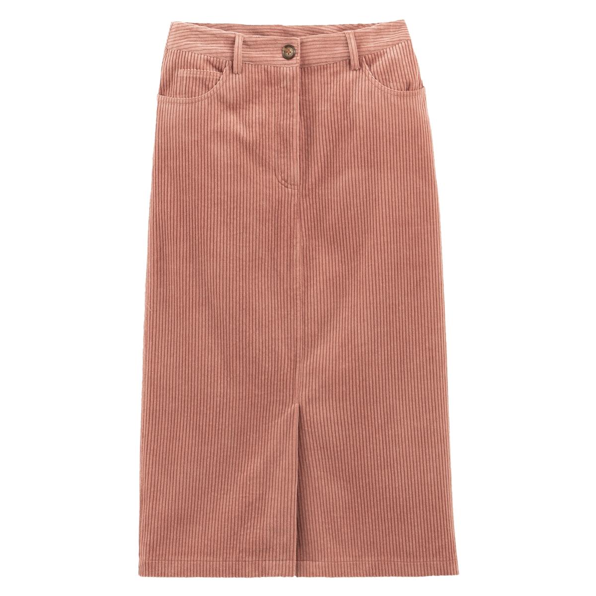 Falda tubo de pana