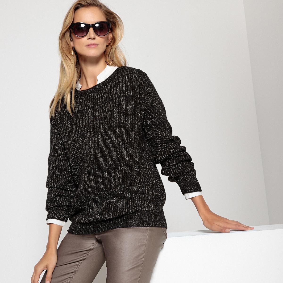Пуловер из плотного трикотажа пуловер из плотного трикотажа с v образным вырезом