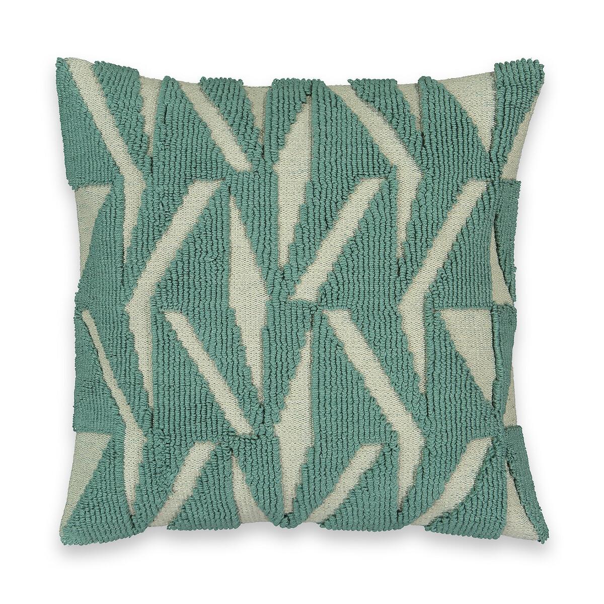 Чехол LaRedoute На подушку Mint 45 x 45 см зеленый