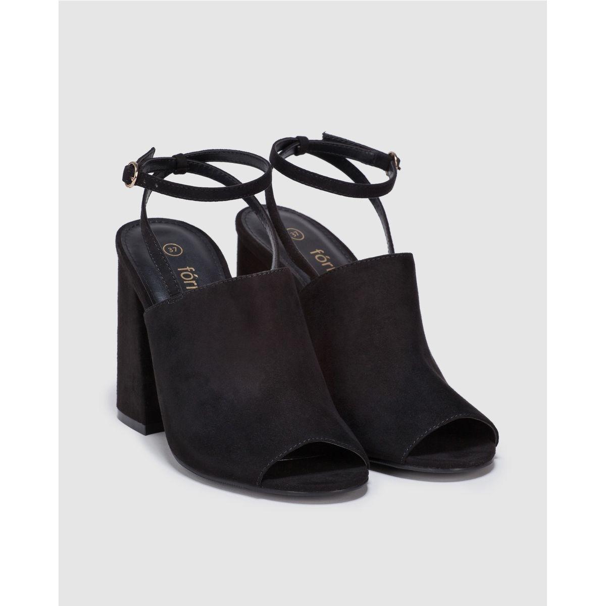 Sandales à talon  avec bride cheville