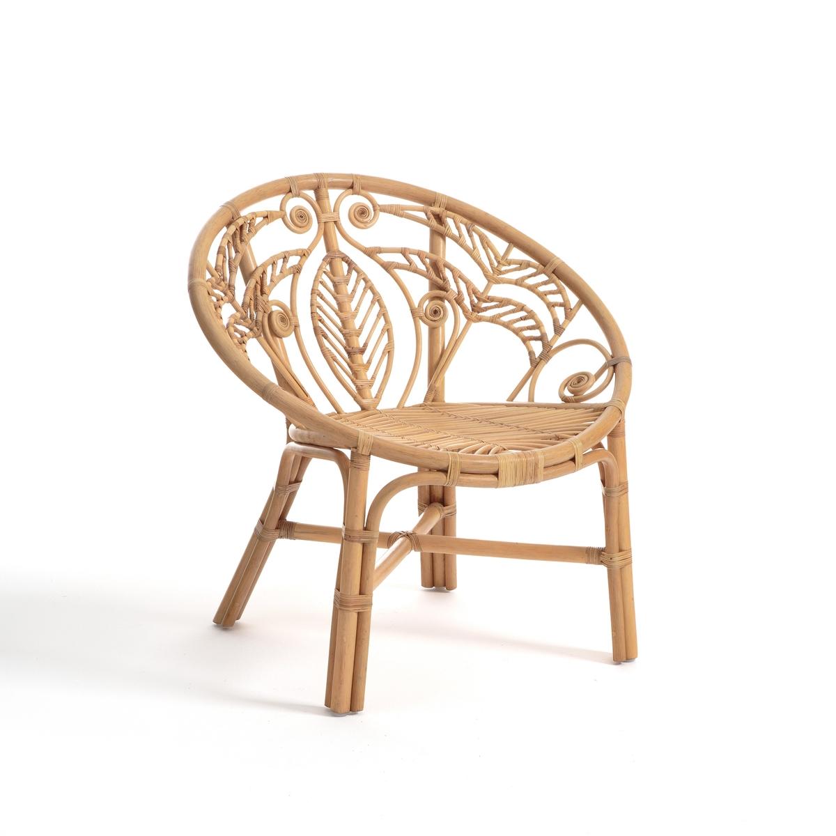 Кресло LaRedoute Из ротанга Calamus единый размер бежевый