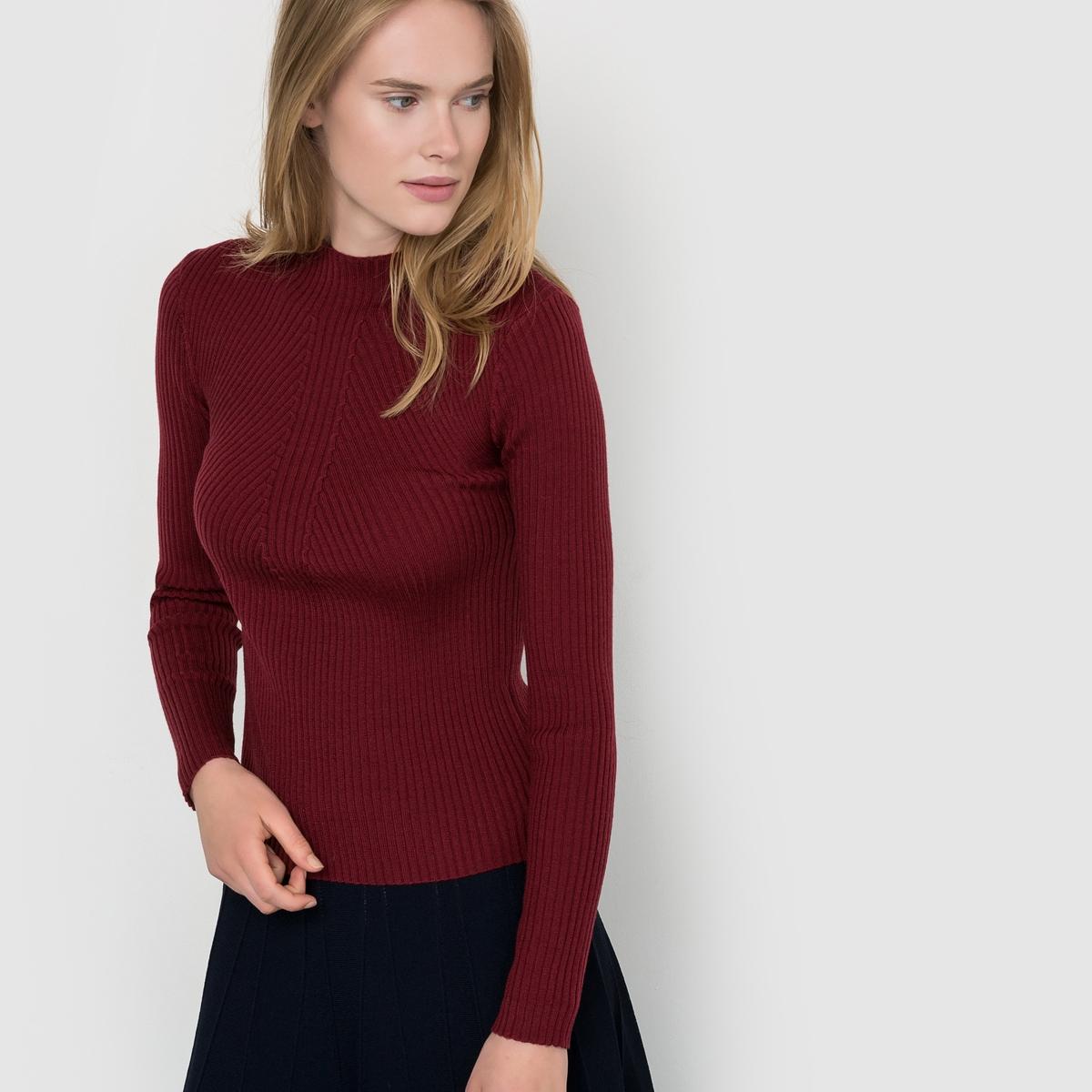 Пуловер Philom?neСостав и описаниеМатериал : 55% шерсти, 45% акрилаМарка : SuncooМодель : Philom?neУходСледуйте рекомендациям по уходу, указанным на ярлыке изделия<br><br>Цвет: бордовый<br>Размер: S