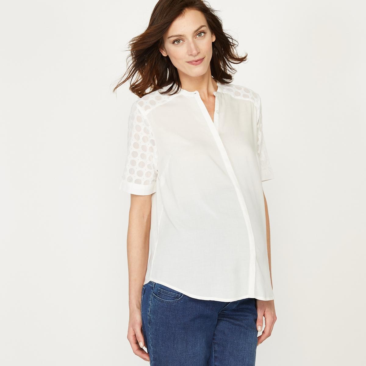 Рубашка прямая для периода беременности
