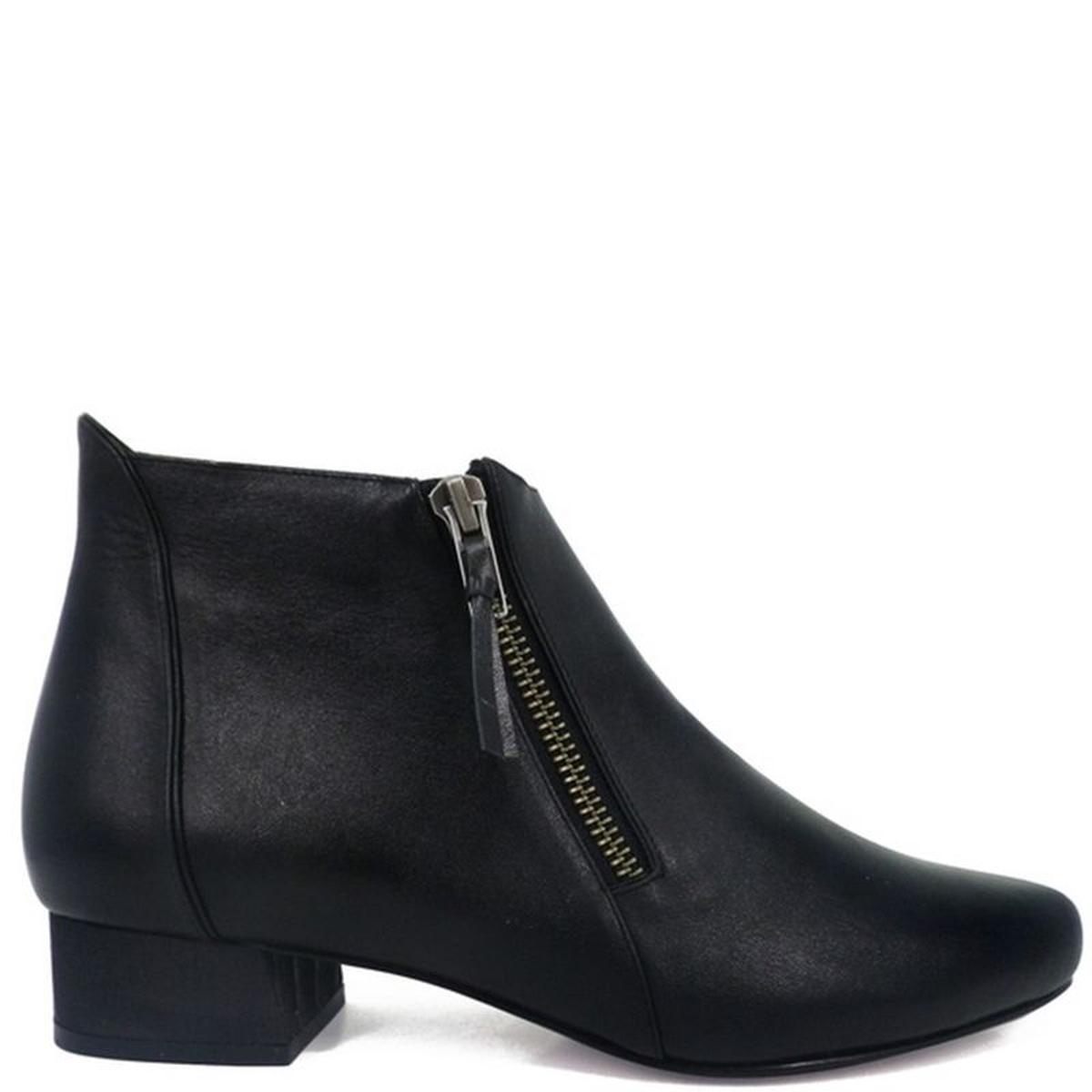 Chaussures femme en cuir LORI BOOTS Grey