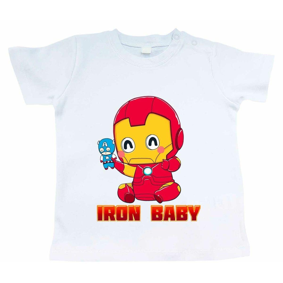 T-shirt Bébé Iron Baby