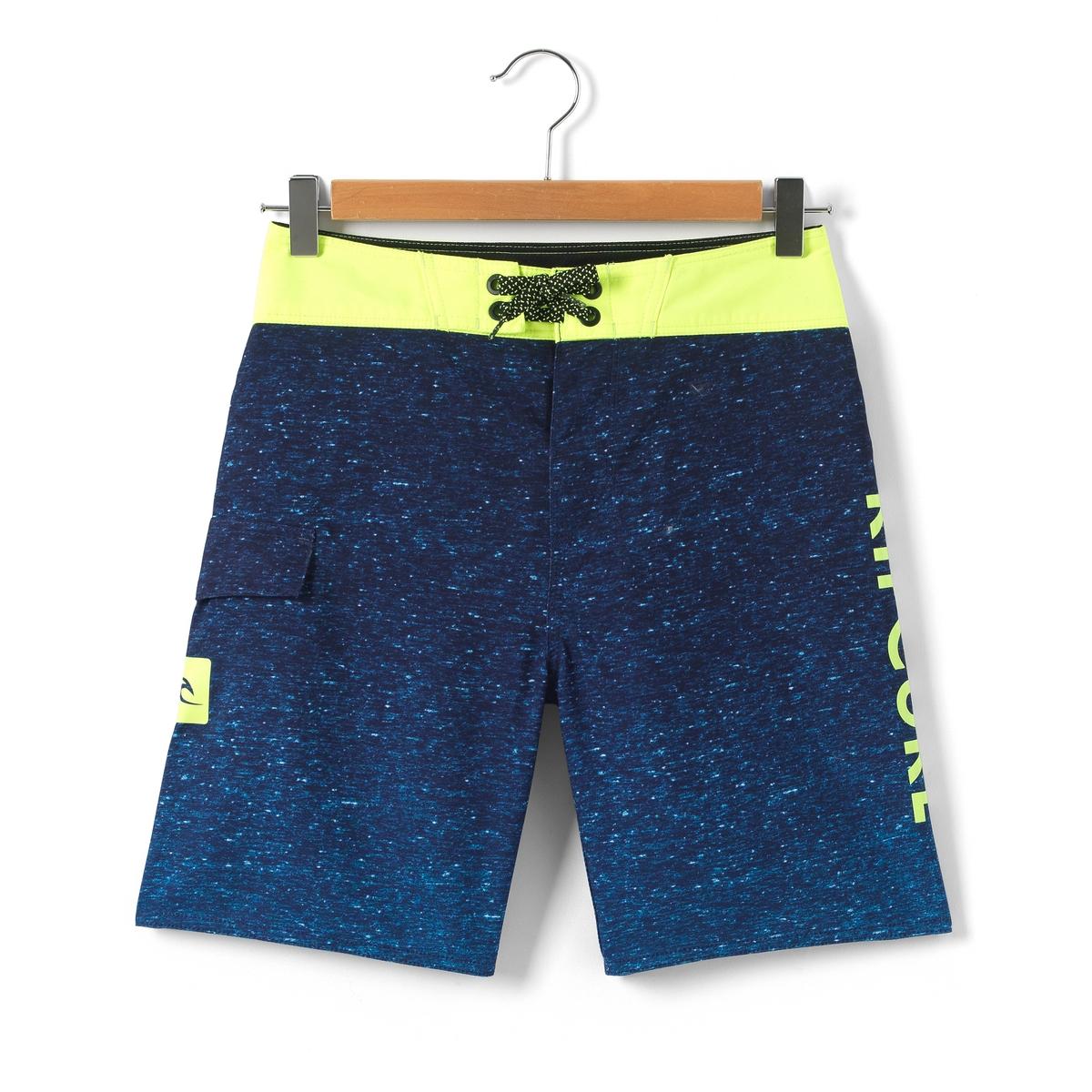 Шорты плавательные с принтом 8-16 лет rip curl плавательные шорты от rip curl 102153