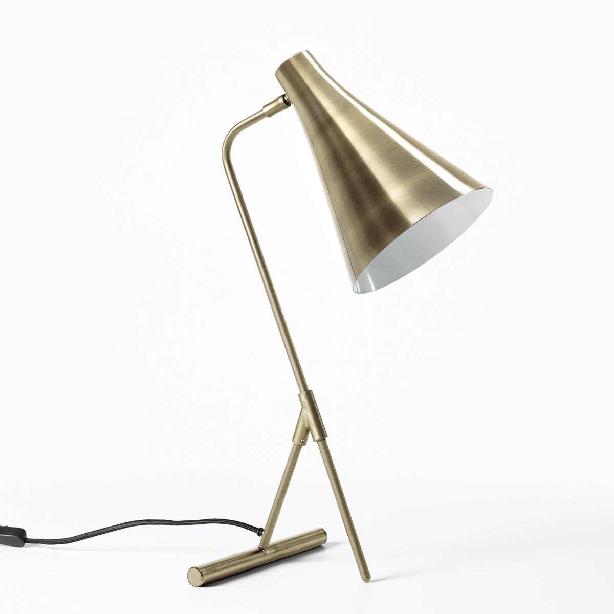 Лампа настольная из металла с отделкой состаренной бронзой, Jameson бра из черного металла и металла с отделкой под латунь elori