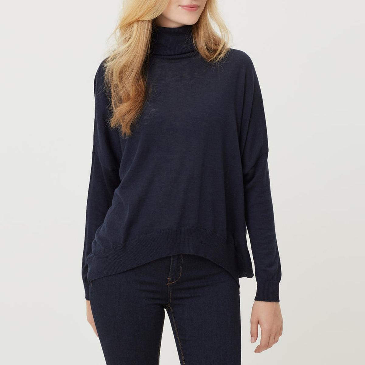Пуловер VMIBNE LS OVERSIZE BLOUSEСостав и описание :Материал : 80% полиамида, 20% эластанаМарка : VERO MODA<br><br>Цвет: темно-синий<br>Размер: XS
