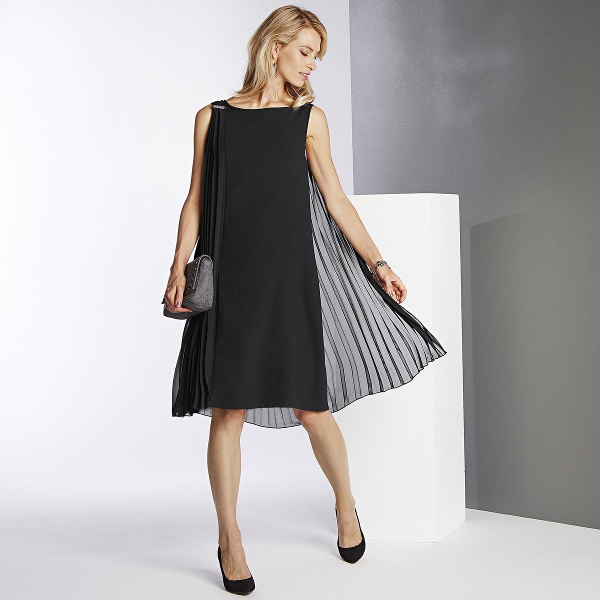 Imagen principal de producto de Vestido plisado sin mangas - Anne weyburn