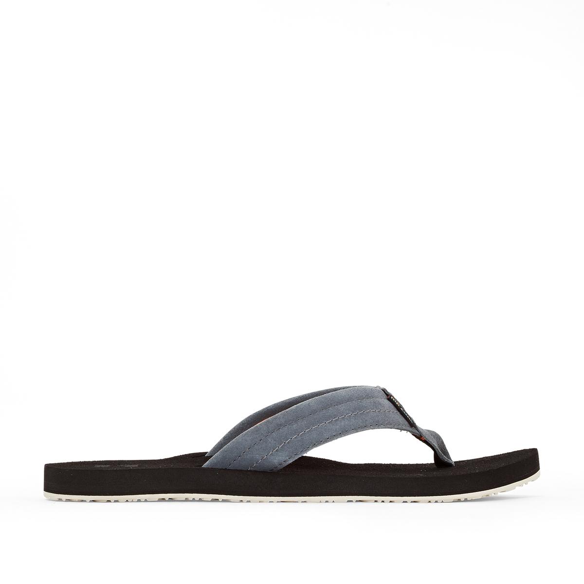 Вьетнамки SmokeyВерх/Голенище : кожа   Стелька : кожа   Подошва : каучук   Форма каблука : плоский каблук   Мысок : открытый мысок   Застежка : без застежки<br><br>Цвет: серый<br>Размер: 41