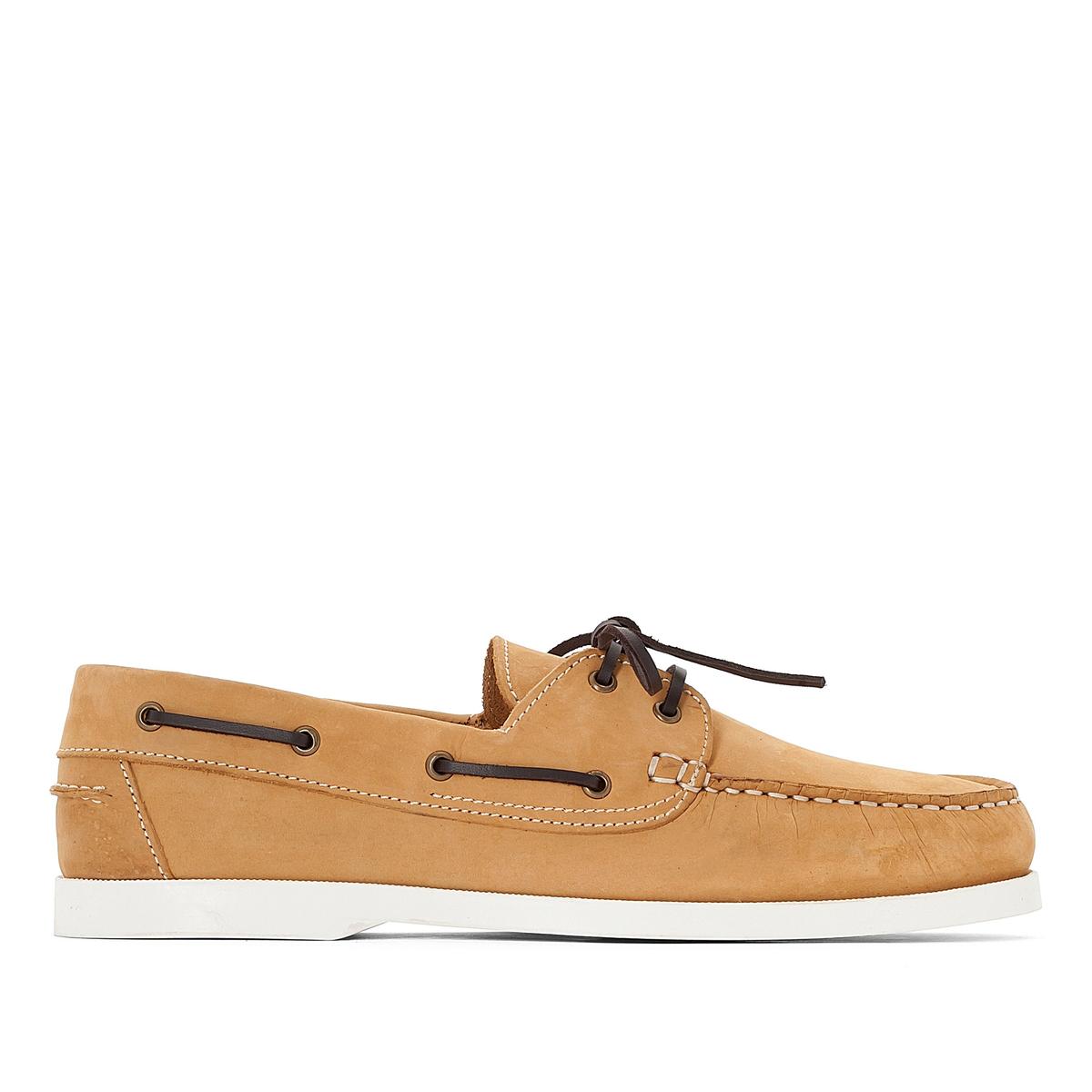 Туфли-лодочки из кожи от La Redoute